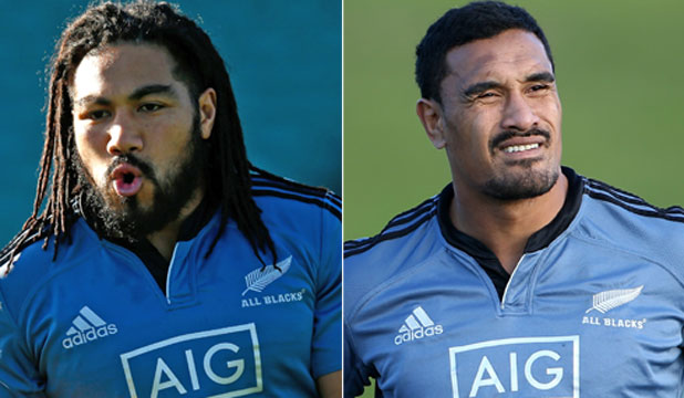Ma'a Nonu and Jerome Kaino