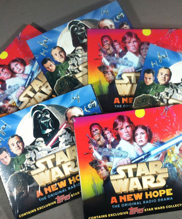 Review: Star Wars: A New Hope Radio Drama Topps Collectable Editions