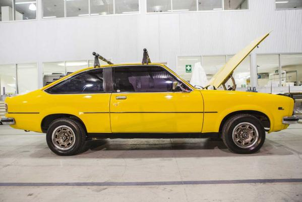 Holden Torana hatchback that was at the centre of the Azaria Chamberlain disappearance in 1980.