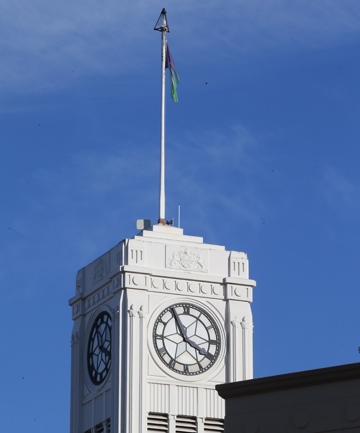 timaru clock tower light of remembrance