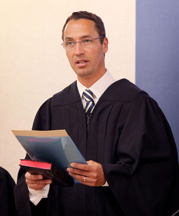 Judge Evangelos Thomas,