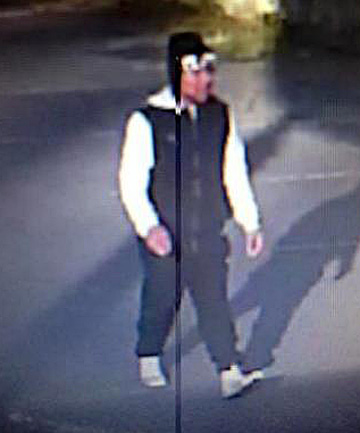 Wanted in relation to sexually motivated attack.