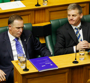 John Key Bill English