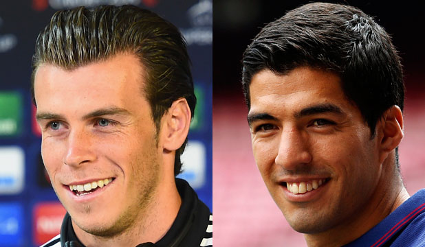 Gareth Bale and Luis Suarez