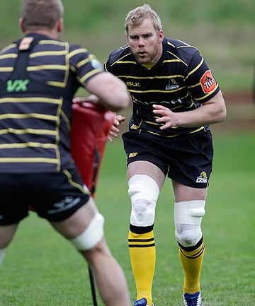REDDISH KNEES: Wellington lock Mark Reddish will play against Manawatu on Friday after missing the first two matches of the season with burns to both legs.