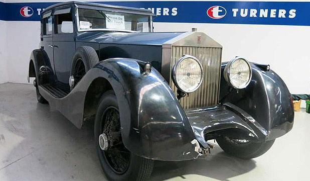 A 1922 Rolls-Royce Silver Ghost linked to convicted fraudster Michael Swann goes up for auction in Auckland.