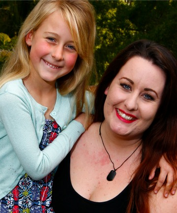 Isabella Campbell and her daughter, Abby Rose.