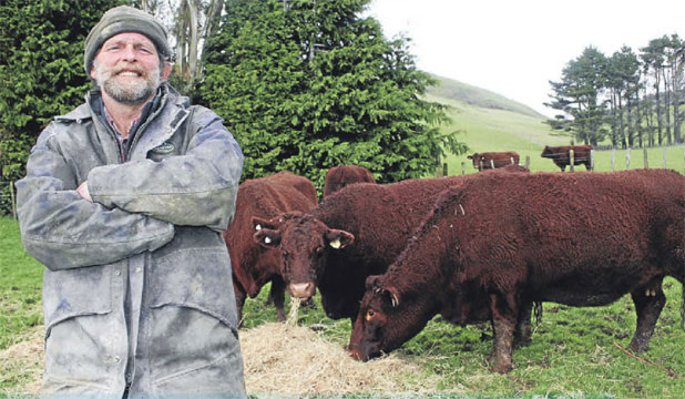 Red devons produce beef that is marbled and ''melts in your mouth'', says Graeme Dyke.