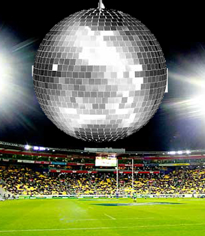 Stadium disco ball