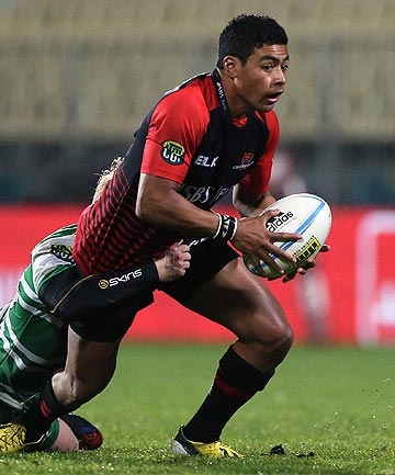 PIVOT: Richie Mo'unga will move to his more accustomed first-five position for tomorrow night's NPC clash with Otago under the roof in Dunedin.