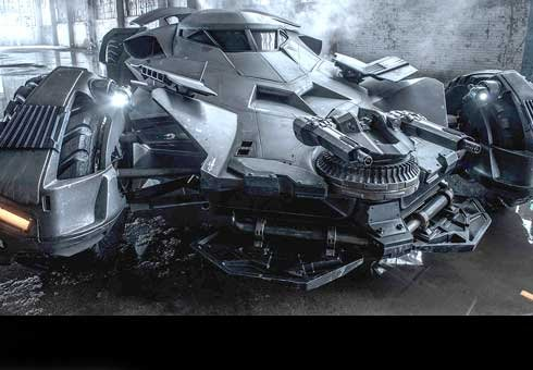 The movie is still 18 months away but the teasing continues around what the new Batmobile will look like.