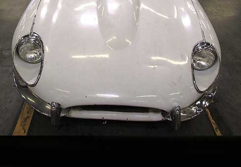 Rare 1967 Jaguar E-Type stolen in 1968 was spotted eagle-eyed customs officer in Los Angeles.