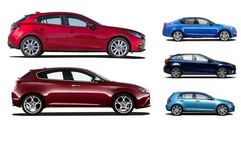 Top-performing family-sized diesel hatchbacks