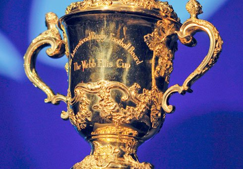 Rugby World Cup trophy