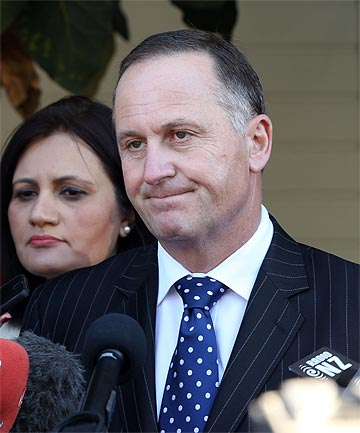 JOHN KEY: Although Bill English and Steven Joyce are expected to retain their roles, Key is understood to be seeking an overhaul.