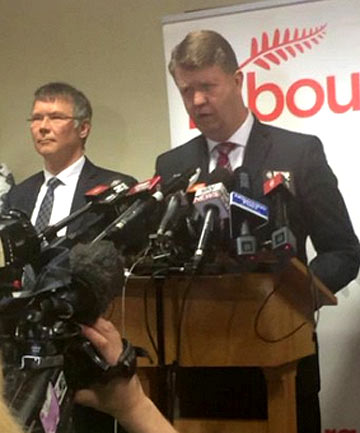 DAVID CUNLIFFE: Lashed out at senior MPs who have given interviews about Saturday's crushing election defeat.