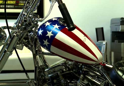 Peter Fonda's Captain America chopper from Easy Rider has come to symbolise the counterculture of the 1960s. Now it's for sale.