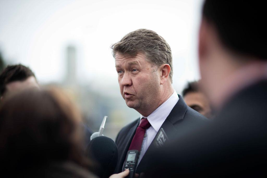 David Cunliffe at home