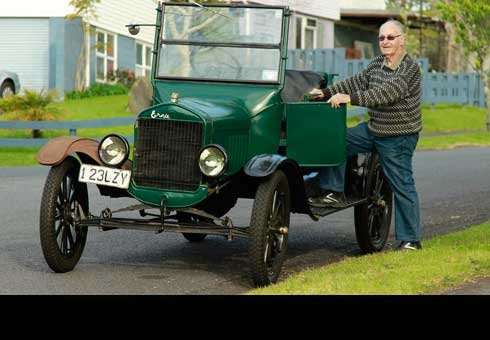 A Model T Ford damaged in a crash last year is ready to hit the road once more.