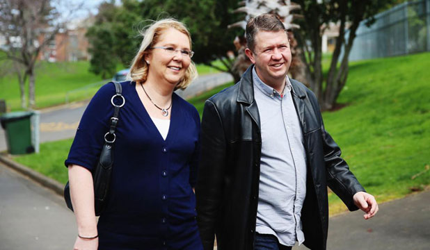 David Cunliffe and wife
