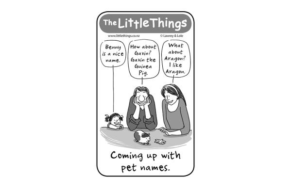 Monday, October 20: Pet names