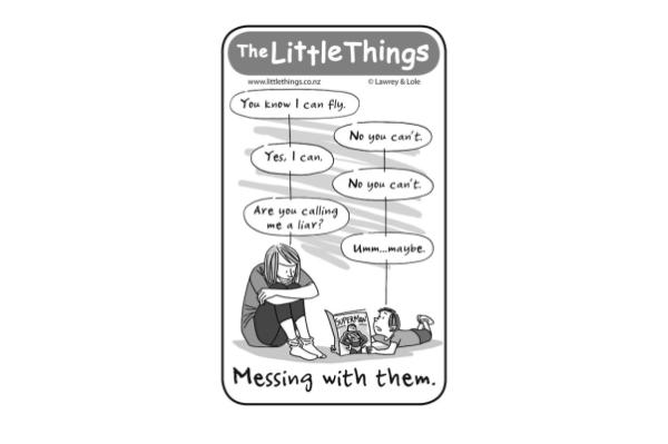 The Little Things cartoon