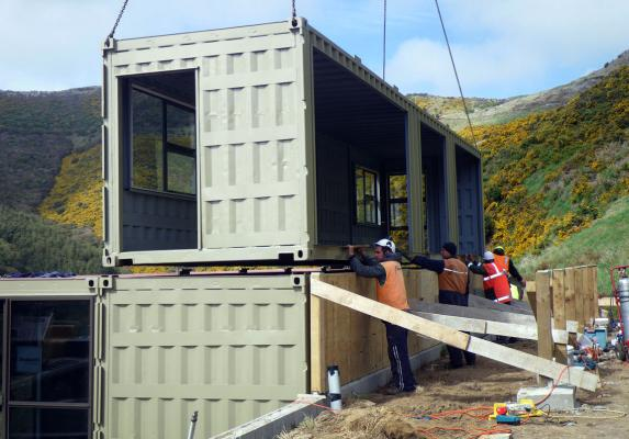 Container homes no low cost solution - Building a container home costs ...