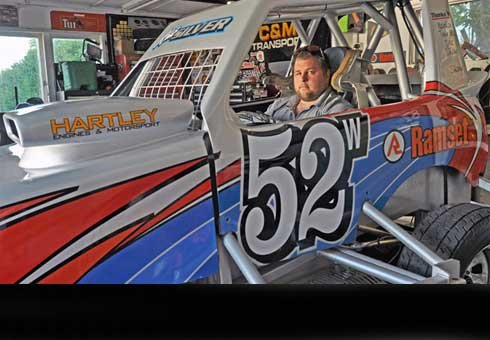 Paul Fairbrother is convenor of the National Super Stock Cars Championship to be held at Te Marua Speedway in January.