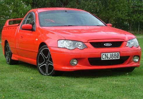 Electric-powered Ford Falcon ute