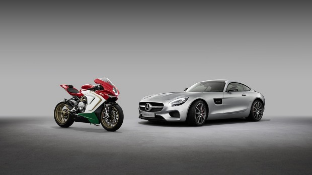 MV Augusta and Mercedes-Benz will work together to reach more customers.