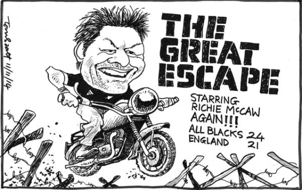 Tuesday, November 11: The Great Escape