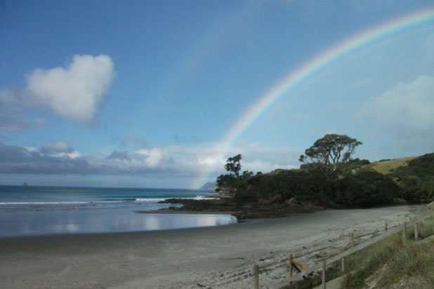 rainbow at Waipeu Cov