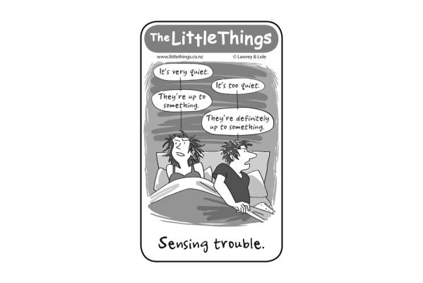 Friday, 23 January 2015: The Little Things