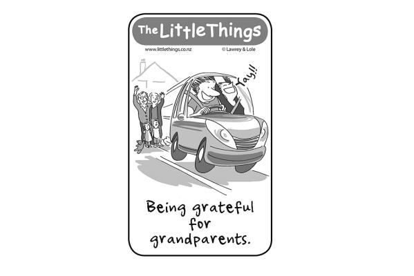 Friday, January 30: Grateful for grandparents
