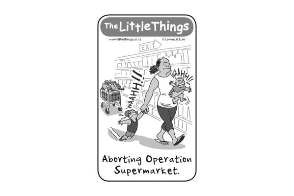 Tuesday, March 3: Aborting Operation Shopping
