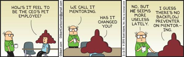 Friday, March 13: Mentoring