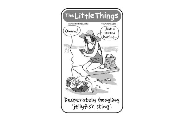 Monday, March 23: Jellyfish stings