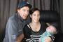 HEARTBREAK AS BABY CLINGS TO LIFE: Peter and Ashleigh Brown, of Alexandra, with their 10-week old son Riley, who suffers from the rare congenital disorder Zellweger syndrome.
