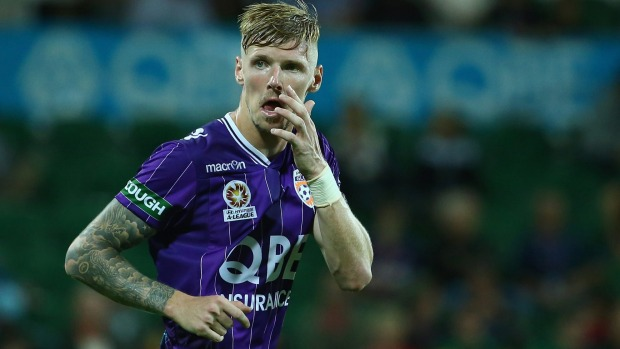 Getty Images </p> <p>   Perth Glory striker Andy Keogh scored a second-half winner against Western Sydney Wanderers at Pirtek Stadium