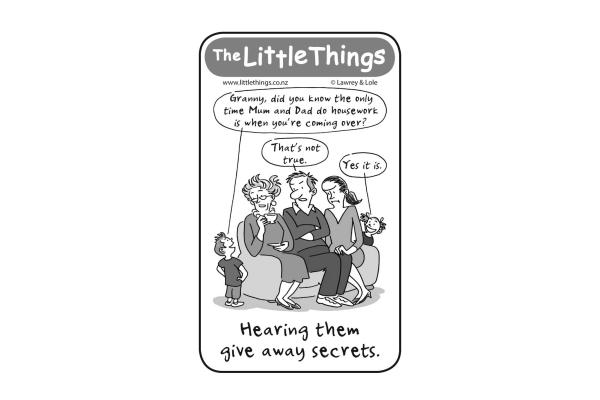 Tuesday, May 26: Giving away secrets