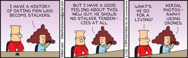 Tuesday, June 17: Stalker tendencies
