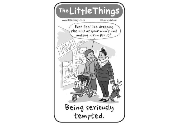 The Little Things Thursday, July 9, 2015