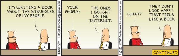 Dilbert, Friday, July 10, 2015