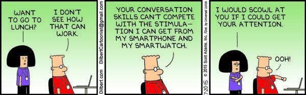 Monday, June 20: Dilbert - Smart phones