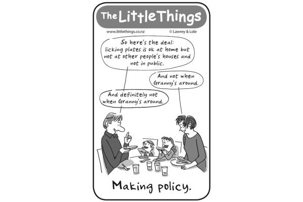 Monday, June 20: The Little Things - Policy