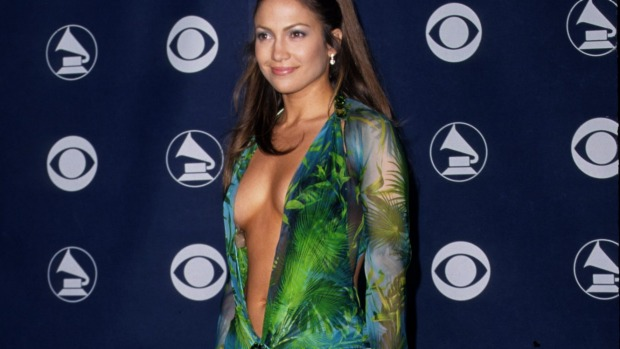 Lopez shows off most of her birthday suit for her 46th celebrations