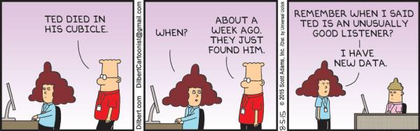 Wednesday, August 5: Dilbert