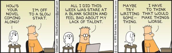 Tuesday 11 August, Dilbert