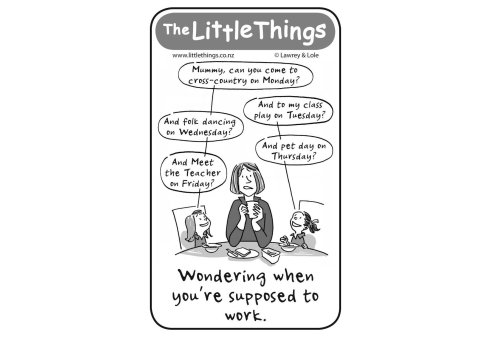 Tuesday 11 August, The Little Things