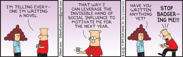 Wednesday 12 August, Dilbert